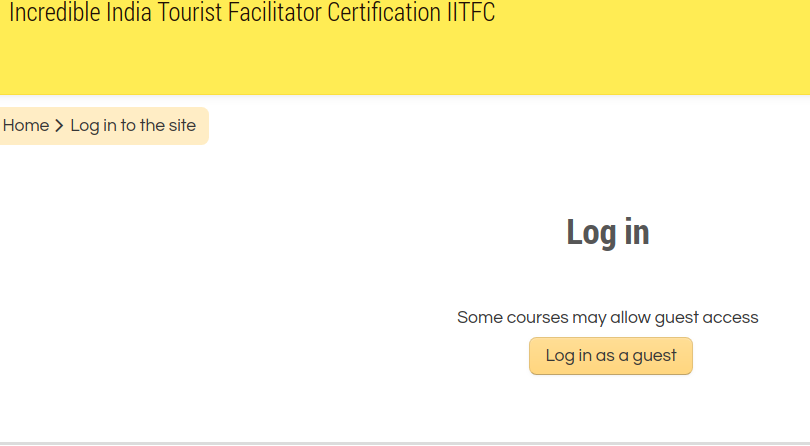 Step 8 - Incredible India Tourist Facilitator Certification (IITFC)
