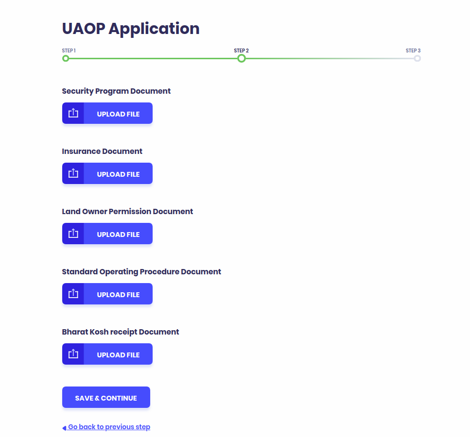 UAOP Application