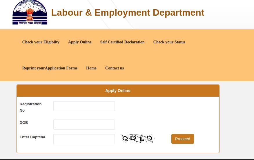 Unemployment Assistance Scheme - Apply Online