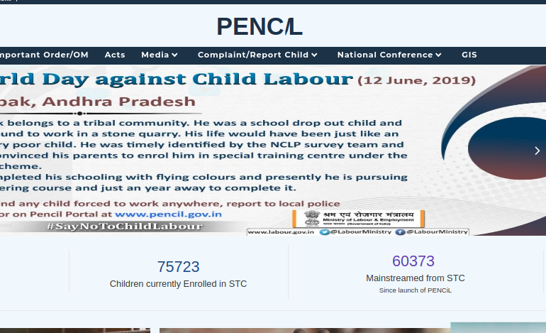 Step 1 - Platform for Effective Enforcement for No Child Labour