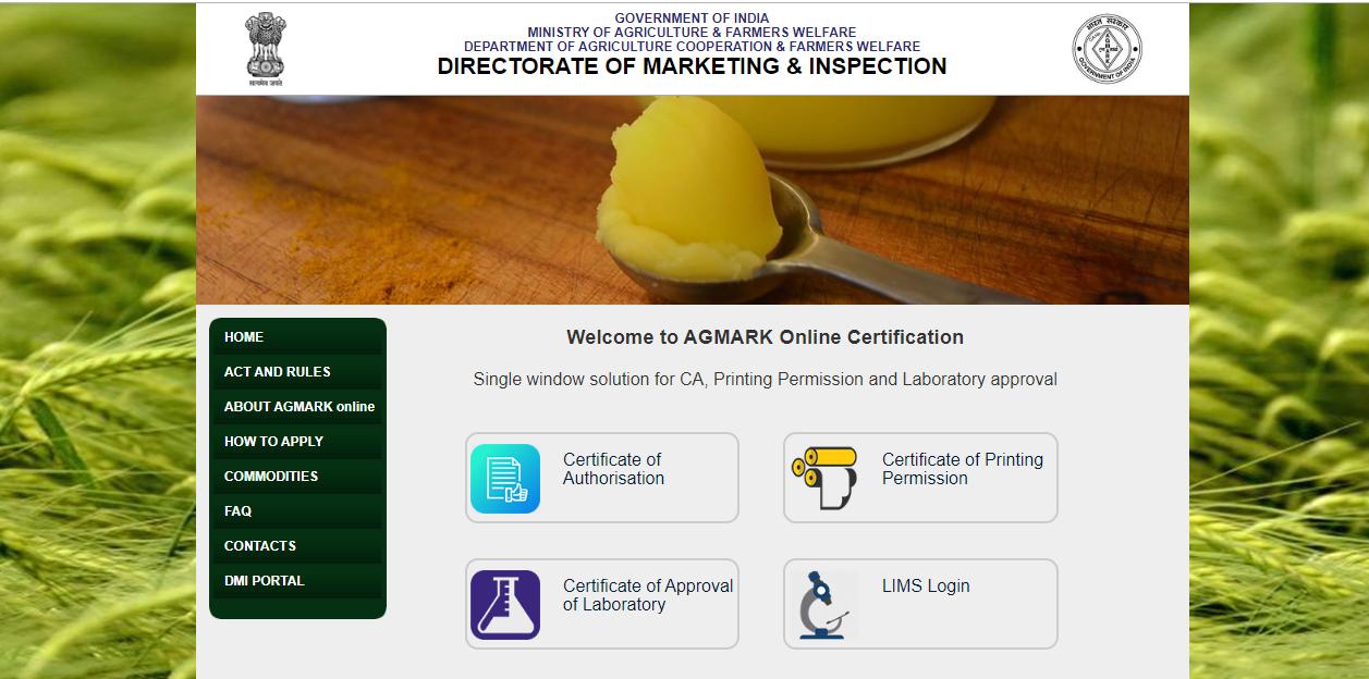 Agmark Registration