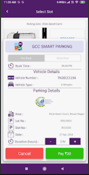 GCC Smart Parking System - Pay Now