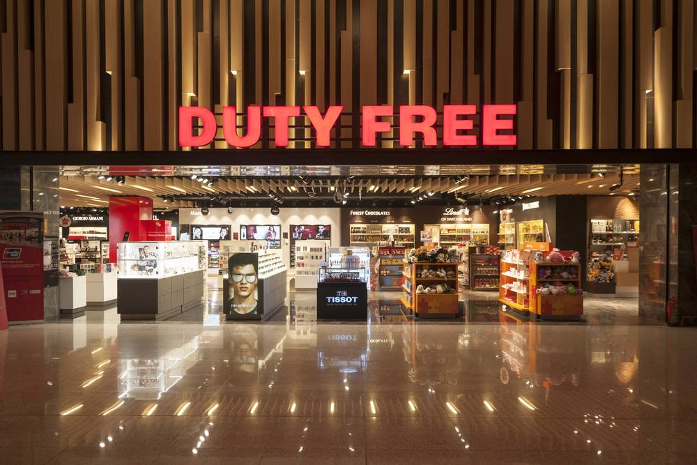 No GST for Duty-Free Shops