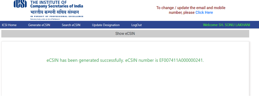 Employee Company Secretary Identification Number (eCSIN)-IMAGE 3