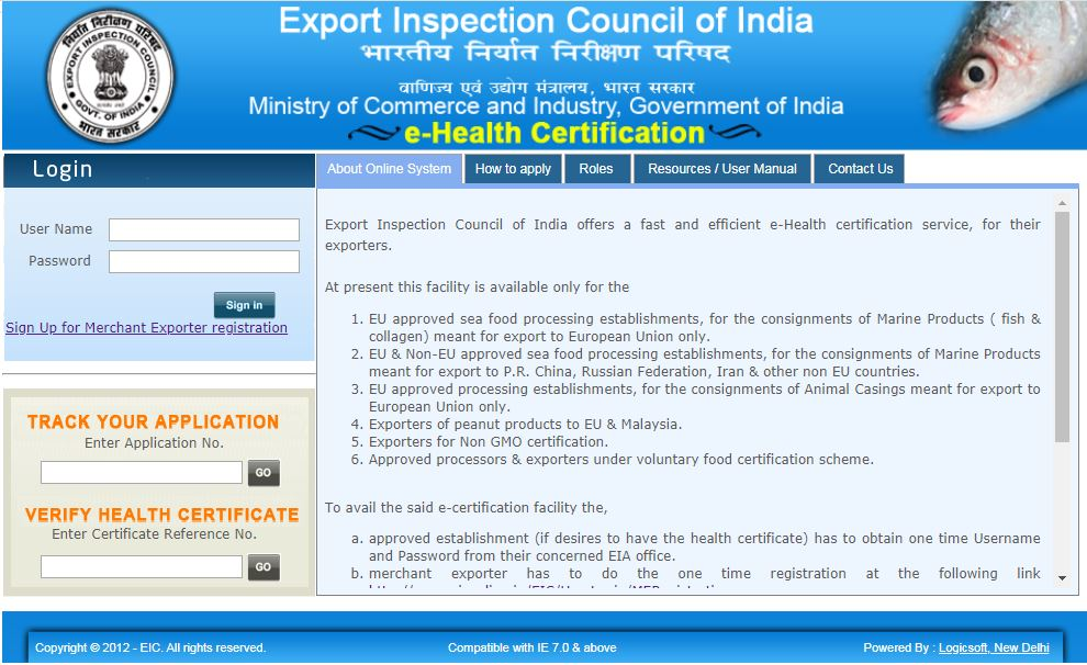 Image 3 Health Certificate for Export of Food Products