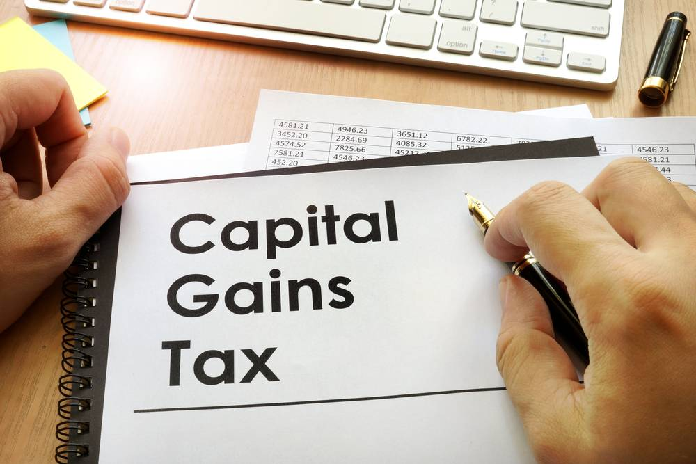 Capital Gains on Share Transfer