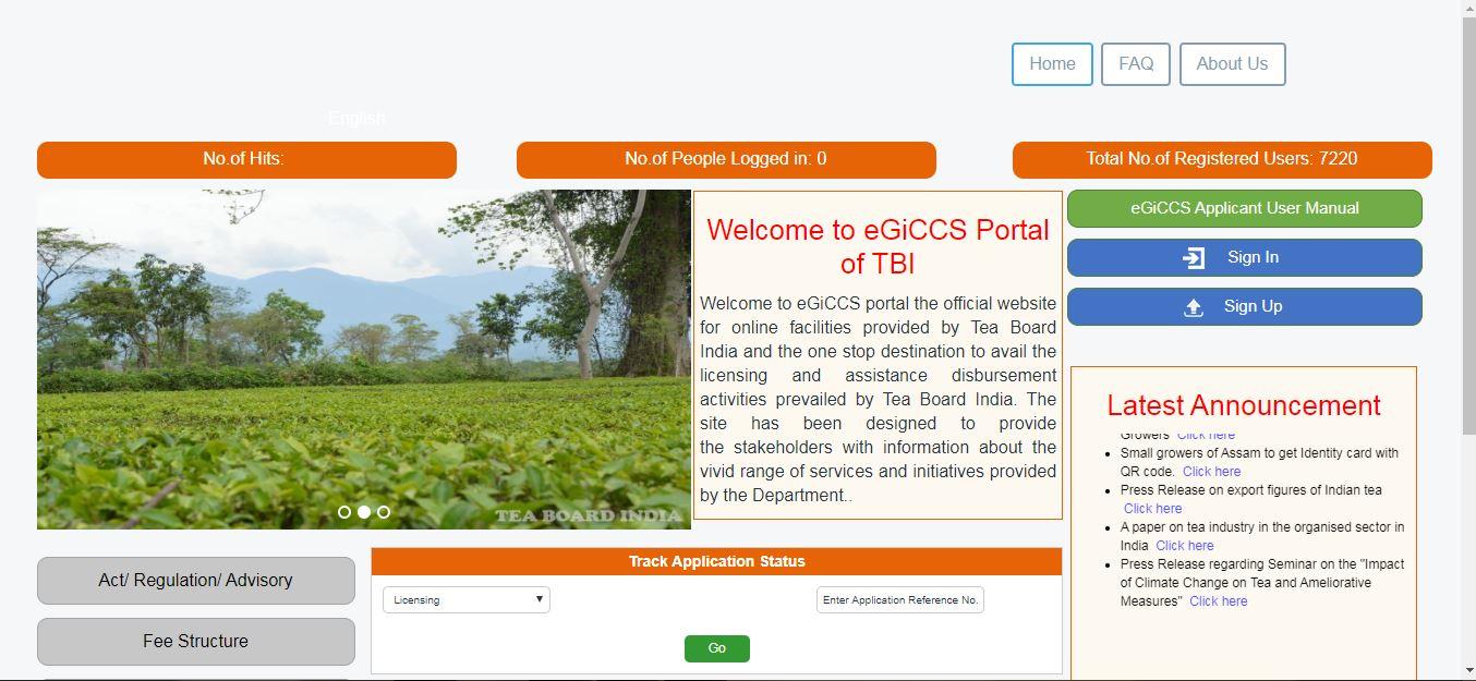 Tea-Board-India - eGiCCS-Home-Page