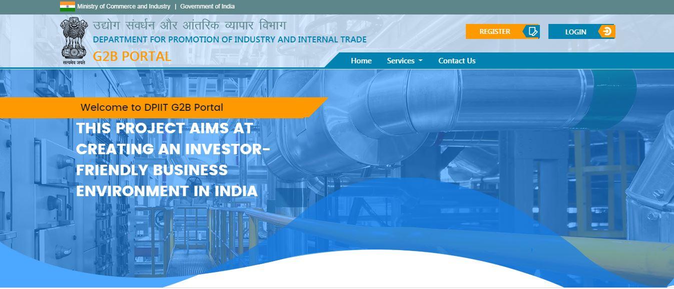 Industrial Entrepreneur Memorandum (IEM) - DPITT G2B Portal