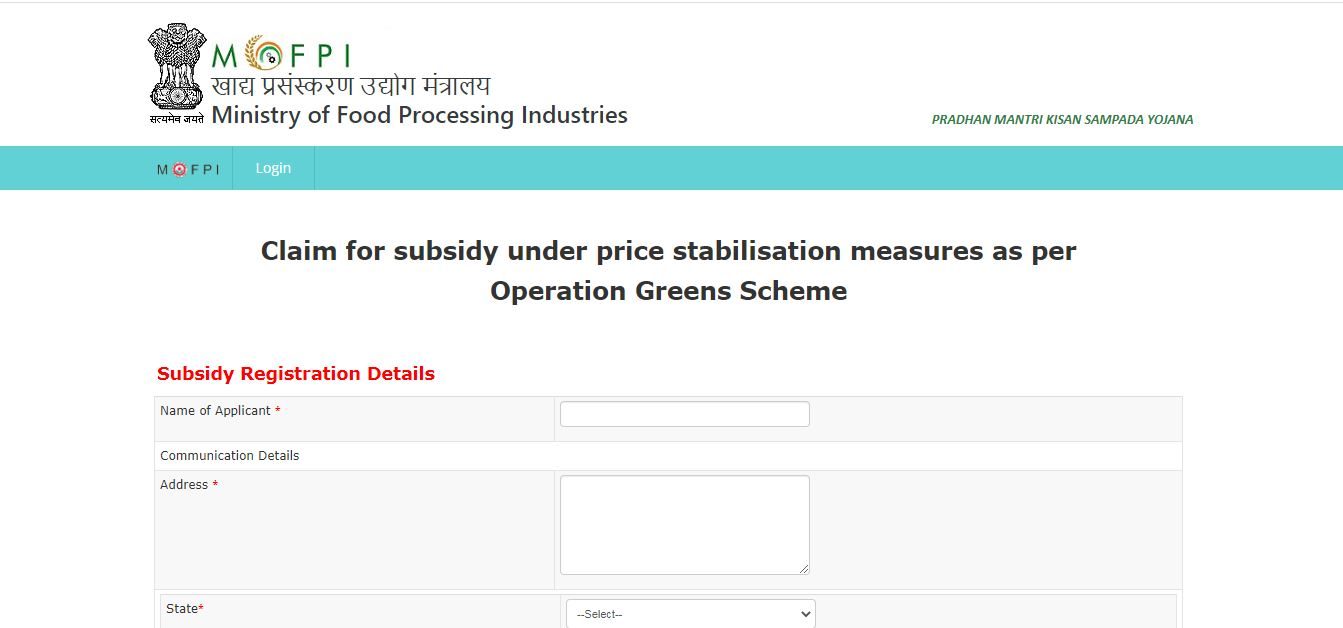Operation Greens (TOP to TOTAL) - Subsidy Registration