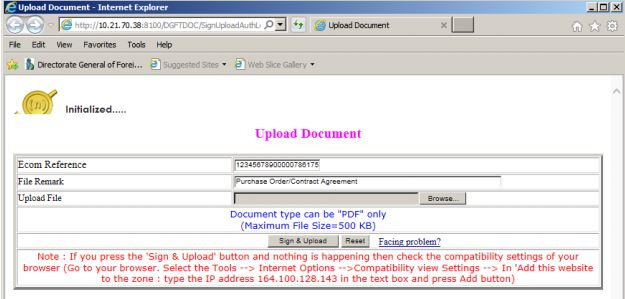 Procedure and Criteria for Export of PPE Medical Coveralls for COVID-19 - Document upload