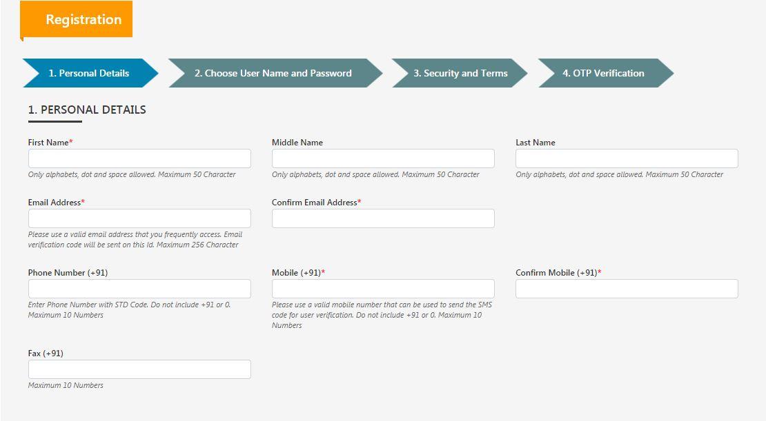 Industrial License (IL) - DPIIT User Registration