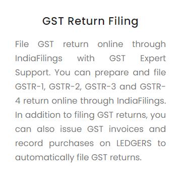 GST Return Filing