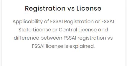 Registration vs License