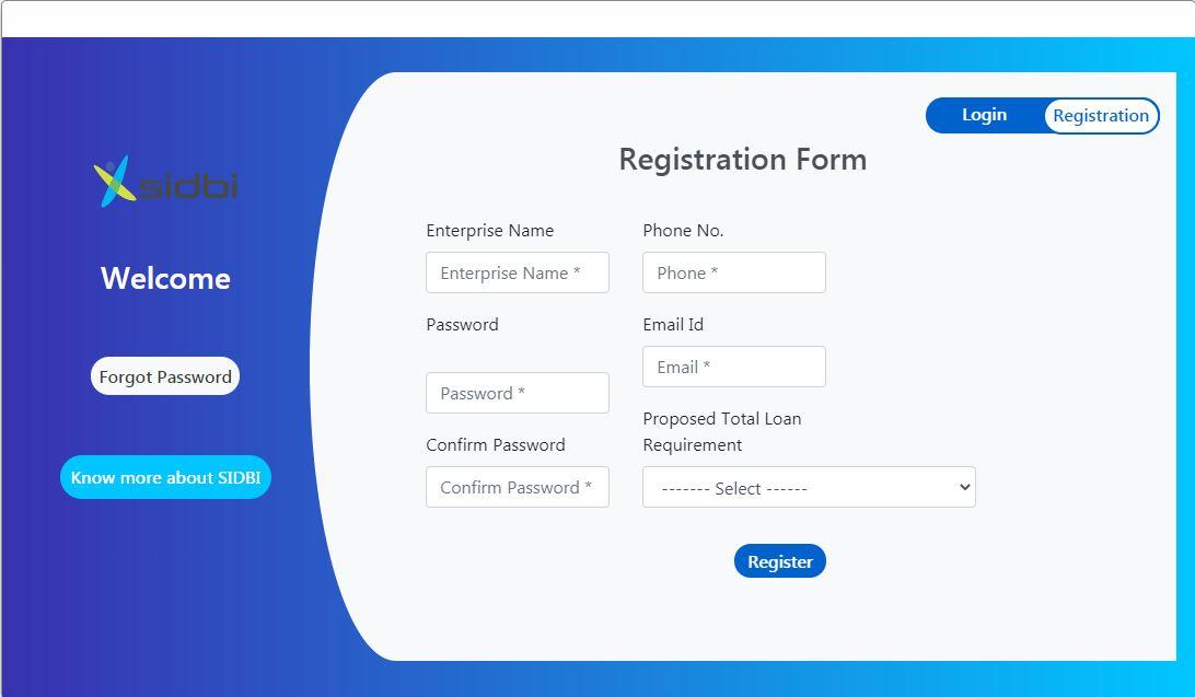 AROG Scheme - User Registration Page