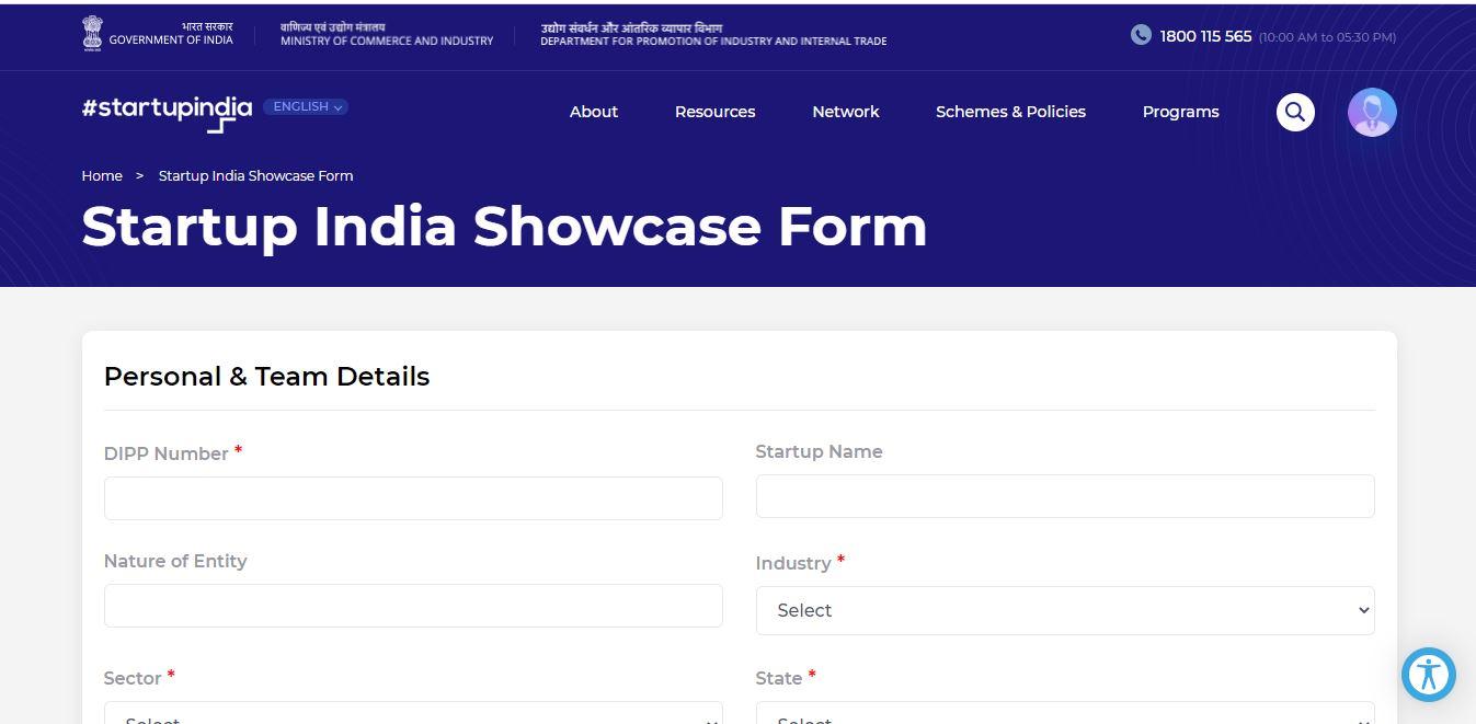 Showcase Application