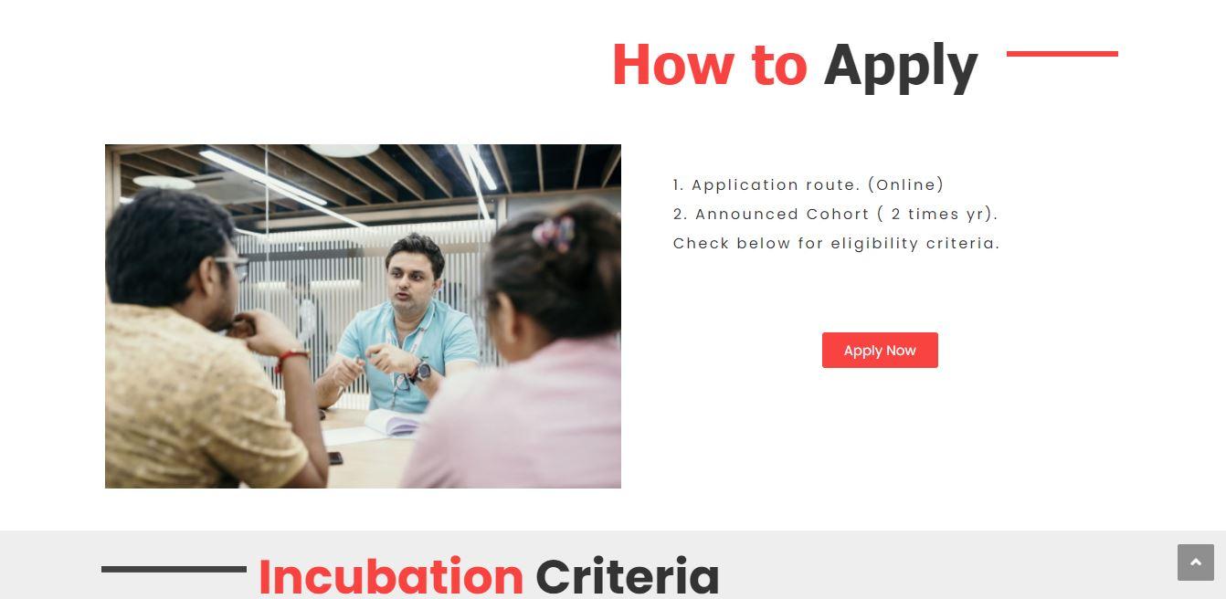 StartupXY Incubation Program for Technology Startups Startups - Application
